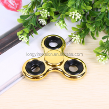 High brightness clover plastic fidget spinner ABS metal texture adult decompression hand spinner fidget toys