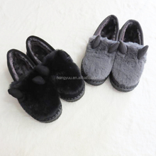 Women / ladies winter Latest attractive style plush cotton shoes