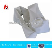 Polyester nonwoven dust collector bags and filter cloth
