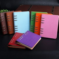 Customized PU leather cover notebook/diary/organizer/planner
