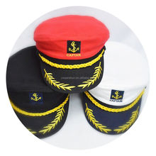 Wholesale Custom Promotional Navy Captain Officer Hat