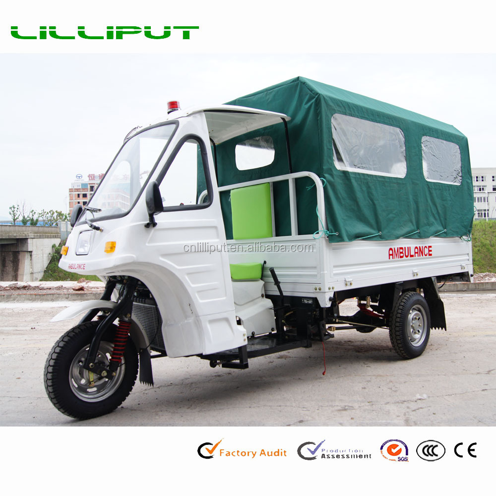 United Nation Project African Wholesale Ambulance Tricycle