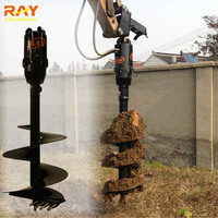Best wholesale websites hydraulic rock drilling earth auger with soil drill bit