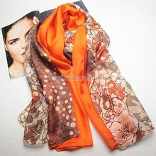 Custom print scarves gossamer fabric 2015