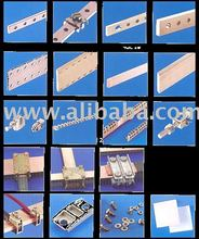 Copper Busbar and Clamps