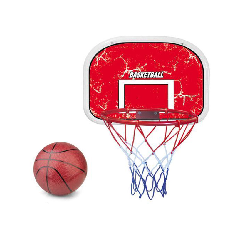 Funny Basketball Ball Toys Indoor Sporting Basketball Hoop Set For Kids