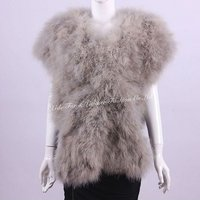 Ostrich Feather Shawls Gray2012-2013 newest fashion