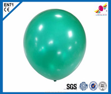 "Inflatable 12"" shiny color latex balloons"