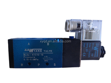 5/2 ways solenoid valve port size 1/4 Ac110v single coil valve 4v210-06