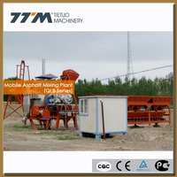 15t/h Mobile Asphalt Batching Plant, small aspahlt batching plant,small asphalt plant