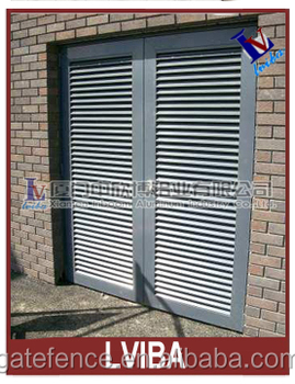 Exterior Louvered Door Metal Louver Doors And Aluminum Louver Door Bu