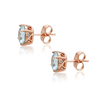 W-20037 xuping elegant big stone different color exquisite stone stud earring