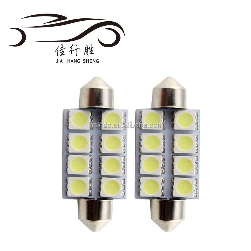 Auto Festoon 31mm 41mm 5050 8SMD 12V C5W Car LED Reading Dome Licence lamp light