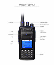 2016 new launch compatible with MOTOTRBO UHF400-480MHz digital radio zastone D900 two way radio