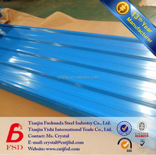 color coated galvanized zinc steel metal roofing sheet sizes