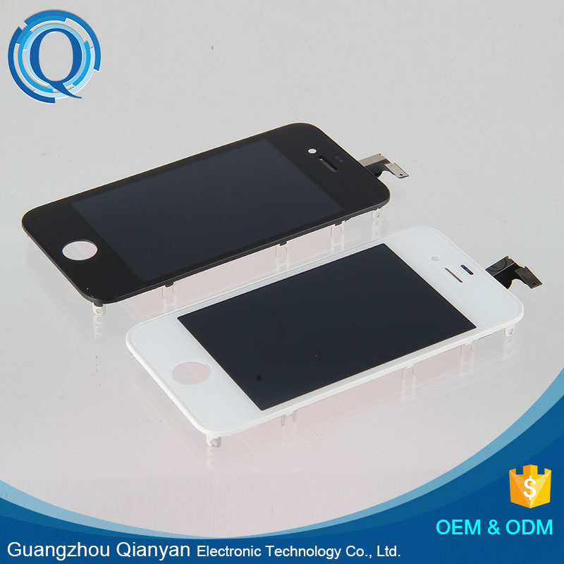 Low Price White Touch Screen Digitizer Original Pass Lcd For Iphone 4