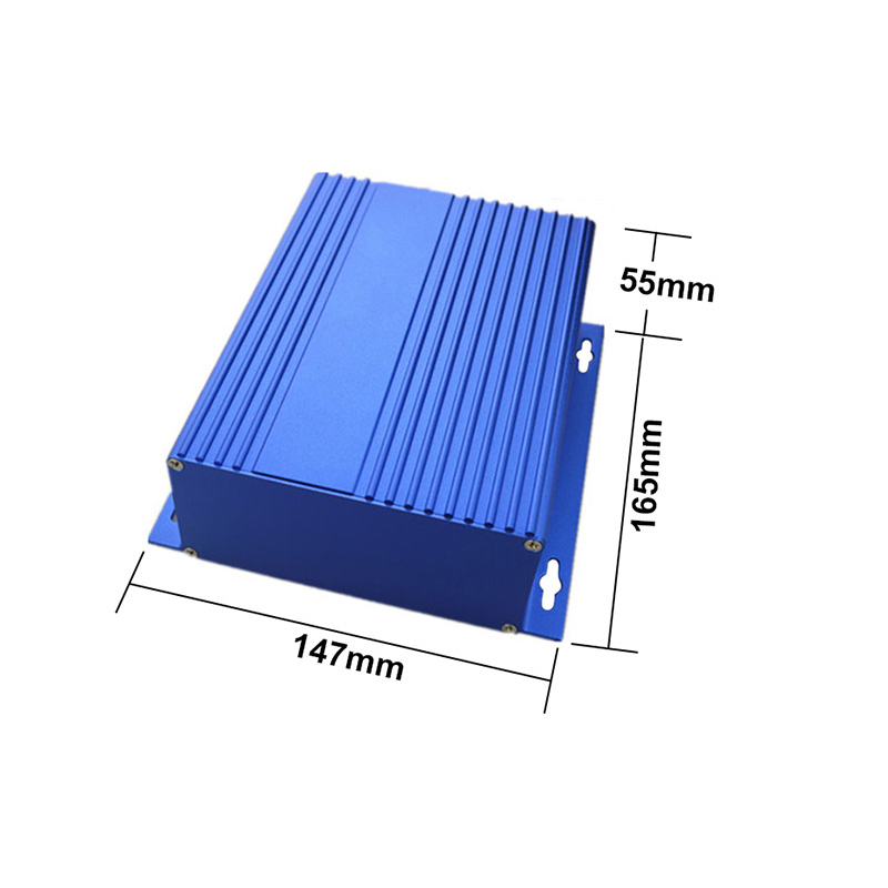 anodizing aluminum extrusion enclosure A A electronic instrument box