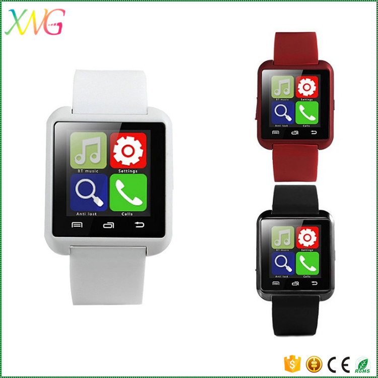 Cheap wholesale big promotion gift U8 bluetooth smart watch mobile phone