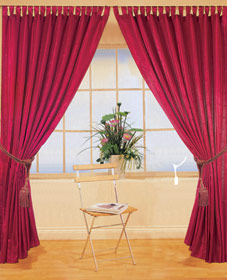 2PC Polycotton Decoration Church Curtains