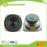 Free sample 105MM 4 Ohm 15W Square Speaker With Clear Sound