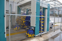 Rollover Car Wash Machine/Rollover Car Wash Equipment/Rollover Car Washer PE-R5 5Brushes Automatic Up Down Drying System