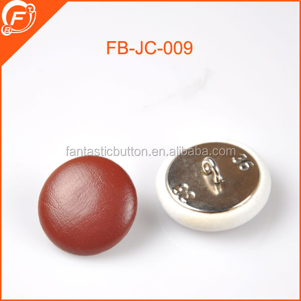 fashion imitation leather covered button for sofa furniture