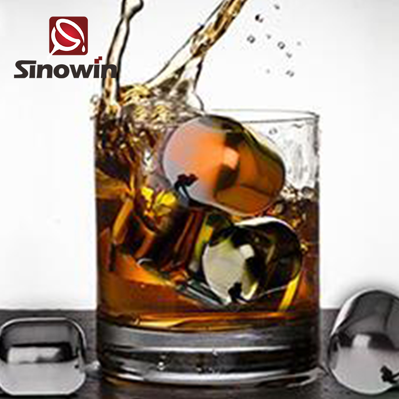 Good Quality Cheap Stainless Steel Reusable Ice Cubes