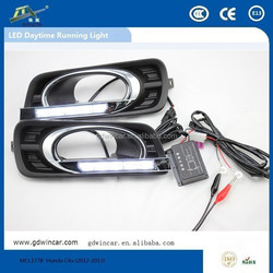 Aftersale Specific led daytime running light for Honda City 2012-2013 led light / led driver light