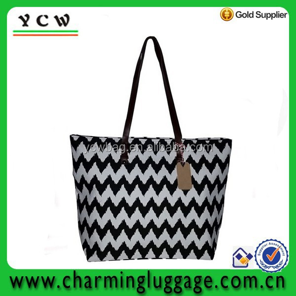 canvas beach bag,canvas chevron tote bag wholesale