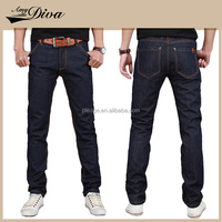2016 wholesale latest design jeans pants elastic good quality men jeans skinny cotton denim jeans for men