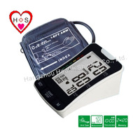 digital blood pressure monitor in large LCD display
