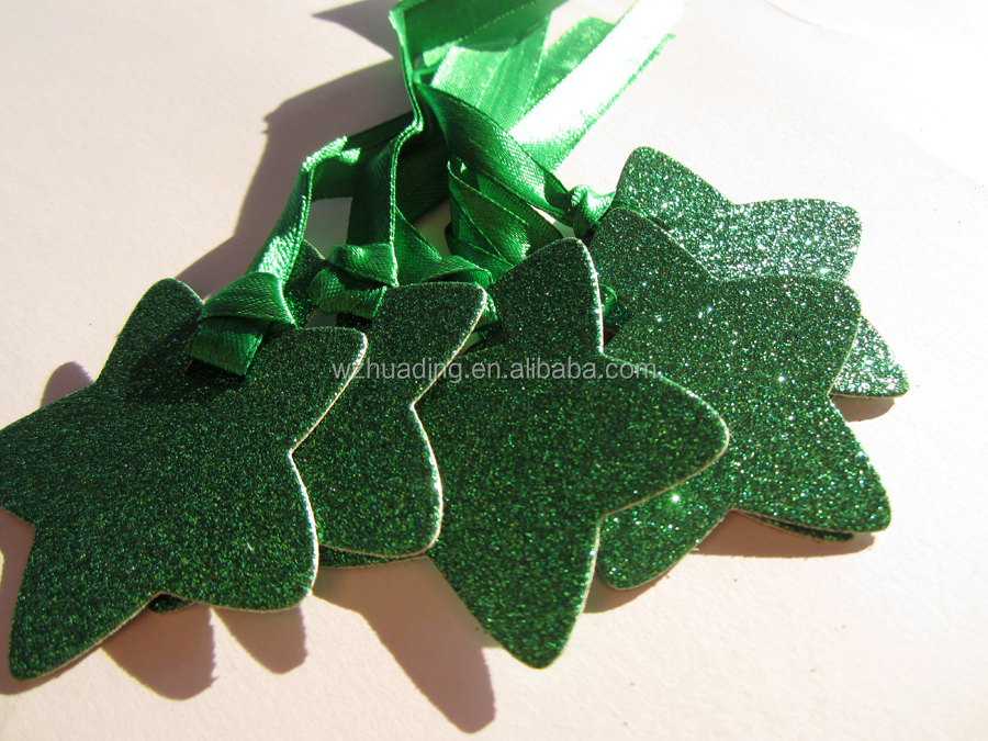birthday party decorations favor christmas bling paper hang star supplies