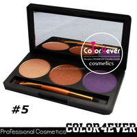 Wholesale Christmas hot 3colors waterproof makeup cosmetics eyeshadow palette new products 2014