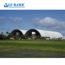 Hot Dip Galvanized Steel Space Frame Coal Shed for Power Plant