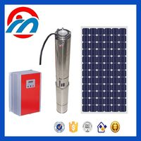 Solar pumps solar DC and AC water submersible pump for irrigation and daily water supply