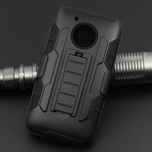 2017 Factory Direct sales Heavy Duty Shock Proof Case For Motorola G5 Plus Mobile Phone Case