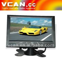 Hot sale 7 inch car touch button tft lcd car tv monitor LED backlight wholesale