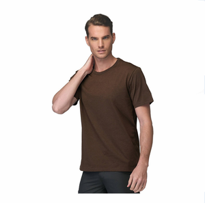clothing factories in china no tag no label plain t shirt 100% combed ringspun cotton tech t shirt custom design