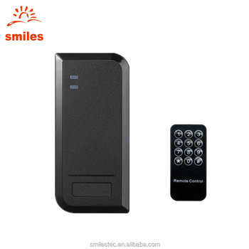 IP66 Waterproof Wiegand Access Control System Support Remote Controller and RFID Card Reader