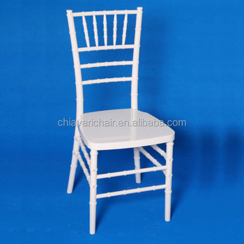 Finely Processed Hot Sale Hotel Resin Chiavari Chair