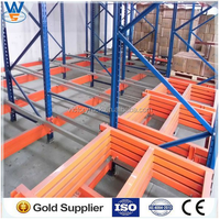 Beam warehouse racking Industrial storage use heavy duty upright manufacturer