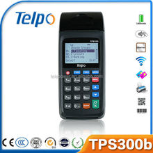 Telepower TPS300b Handheld Linux POS Device With Thermal Printer for Airtime/Lotto/Mobile Money/Bus Ticket