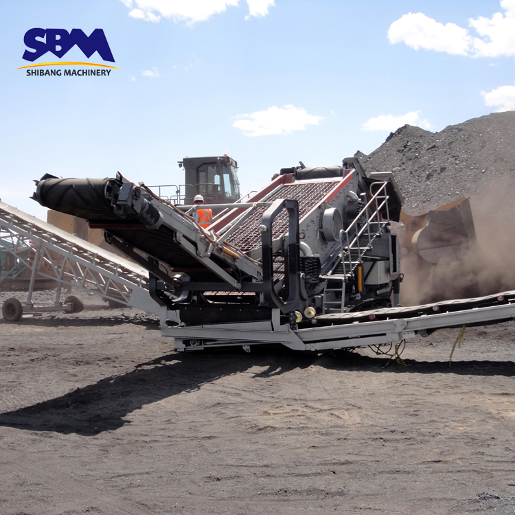 SBM German technical small mobile rock crusher for sale