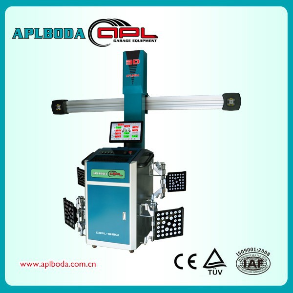 Price And Measurement Camber and Caster+Double Service 3D Wheel Alignment Machine