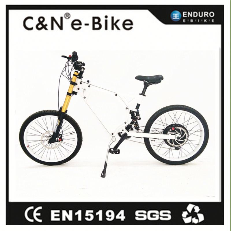 2016 New Design Cheap 1500W Bicycle With Electric Motor For Sale