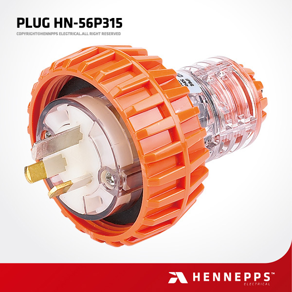 Hennepps Australian IP66 electric male and female industrial plug and socket