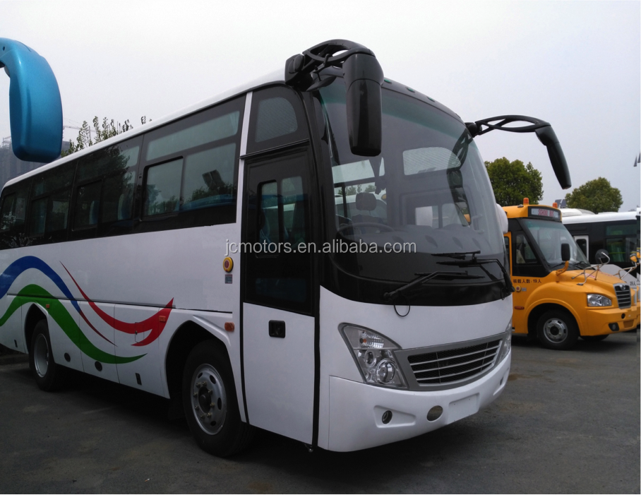 Popular Shaolin Luxury Bus Passenger Coach Bus with Free Parts for Sale
