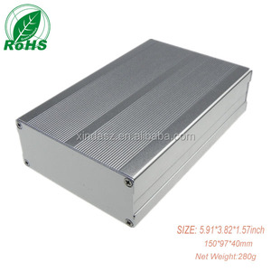 Custom Electrical Metal Box Concluding Aluminum Control Case Device Enclosure