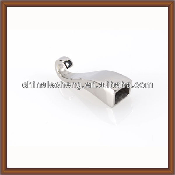 Stainless Steel Hook Clasps,cheap jewelry hook clasps for leather bracelets