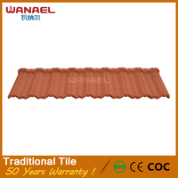 Wanael villa building materials earthquake resistance german discount roof tile
